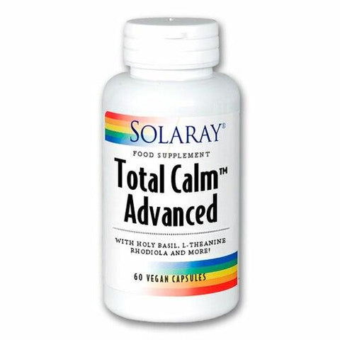 Solaray Total Calm Advanced 60vcaps