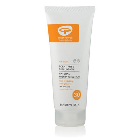 Green People Organic Sun Lotion SPF30 Scent Free 200ml