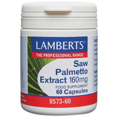 Lamberts Saw Palmetto Extract 160mg 60 Capsules