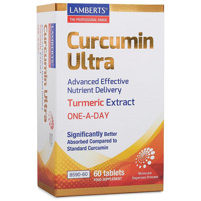 Lamberts Curcumin Ultra - One a Day 60 Tablets