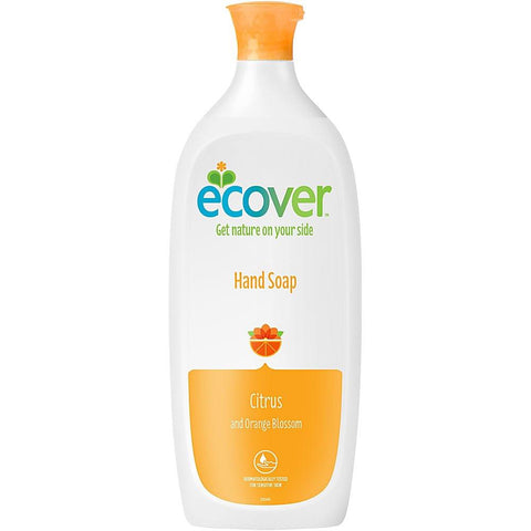Ecover Hand Wash Citrus & Orange 1 Litre
