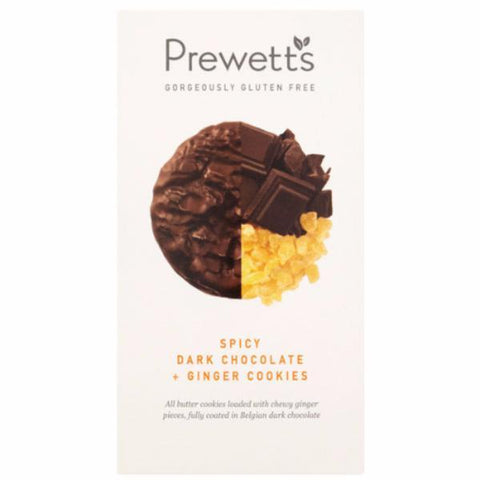 Prewett's Gluten Free Ginger & Choc Cookies 150g (Pack of 6)