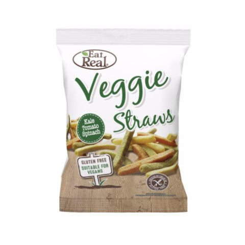 Eat Real Veggie & Kale Straws 45g (Pack of 12)
