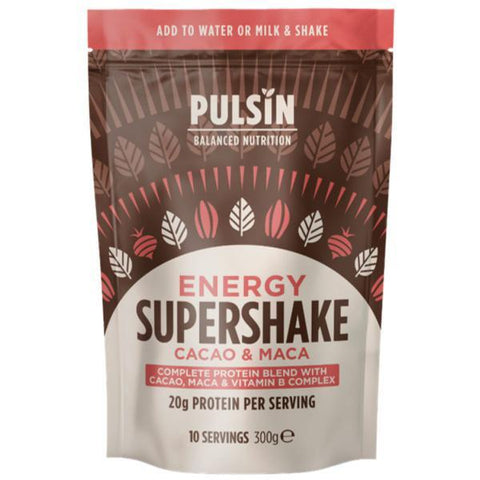 Pulsin' Limited Energy Cacao & Maca Supershake 300g
