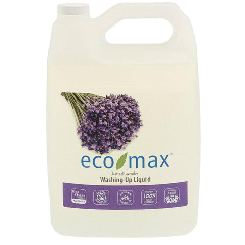 Eco-Max Washing Up Liquid Lavender 4ltr