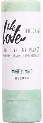 We Love The Planet Natural Deodorant Stick Mighty Mint 65g