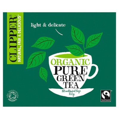 Clipper Green Tea - Pure & Organic 80 Bags