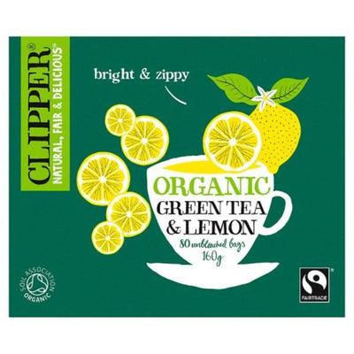 Clipper Green Tea & Lemon - Organic 80 Bags