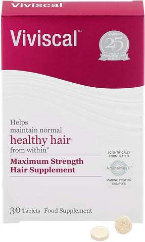 Viviscal Maximum Strength Mens Hair Supplement 30tabs