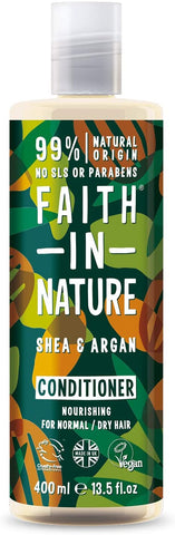 Faith In Nature Shea & Argan Conditioner 400ml