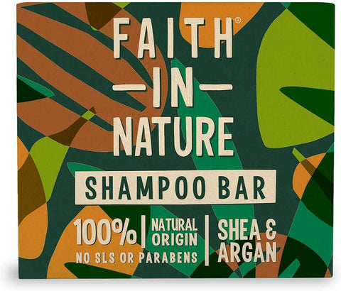 Faith In Nature Shea & Argan Shampoo Bar 85g