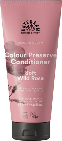 Urtekram Organic Colour Preserve Conditioner Soft Wild Rose 180ml