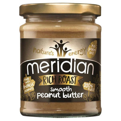 Meridian Rich Roast 100% Peanut Butter - Smooth 280g