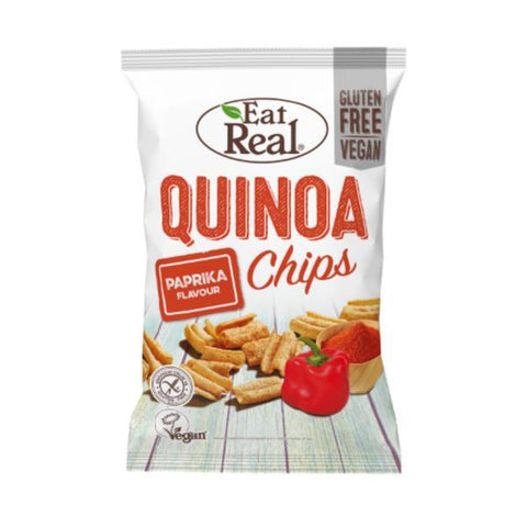 Eat Real Quinoa Chips Paprika 80g (Pack of 10)