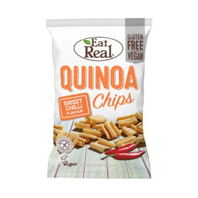 Eat Real Quinoa Chips Sweet Chilli 80g (Pack of 10)