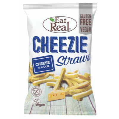Eat Real Cheeze Straws 113g (Pack of 10)