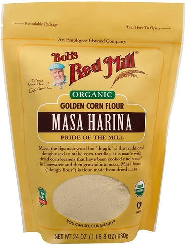 Bob's Red Mill Organic Golden Masa Harina Flour 680g