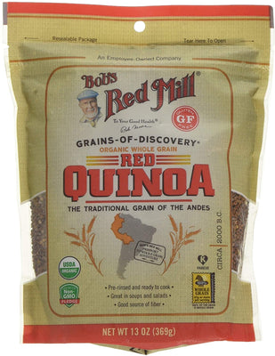 Bob's Red Mill Organic Red Quinoa Grain 369g