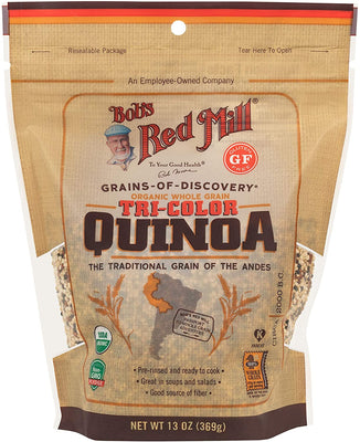 Bob's Red Mill Organic Tricolor Quinoa Grain 369g