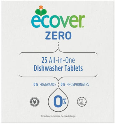 Ecover Zero All In One Dish Washer 25 Tablets