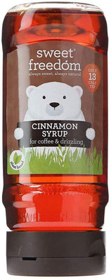 Sweet Freedom Cinnamon Syrup - Fruit Sweetened 350g
