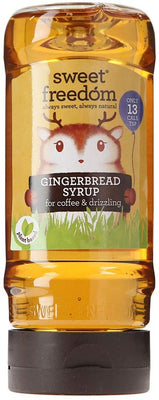 Sweet Freedom Gingerbread Syrup - Fruit Sweetened 350g