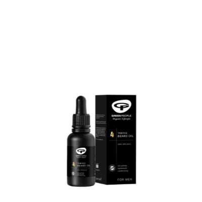 Green People No.4 Mens Taming Beard Oil 30ml