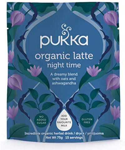 Pukka Night Time Organic Herbal Latte 72g