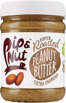 Pip & Nut Super Roasted Extra Crunchy Peanut Butter 225g