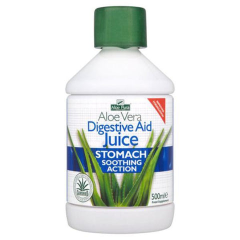Optima Aloe Pura Digestive Aid Aloe Vera Juice 500ml