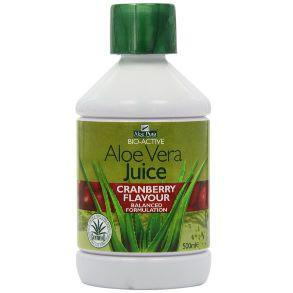 Optima Aloe Pura Aloe Vera Juice with Cranberry 500ml