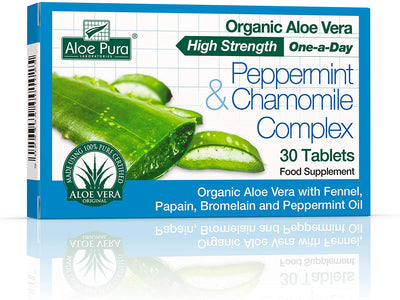 Optima Health Aloe Pura Aloe Vera Digestive Aid 30 Tablets
