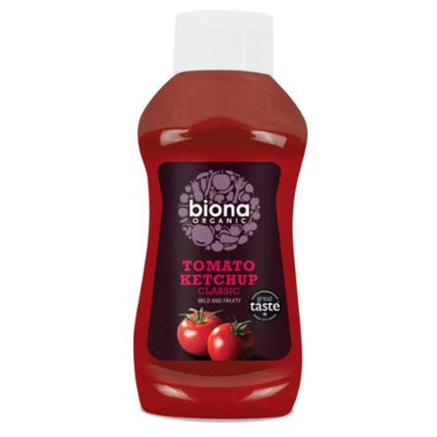 Biona Organic Ketchup Classic Squeezy 560g