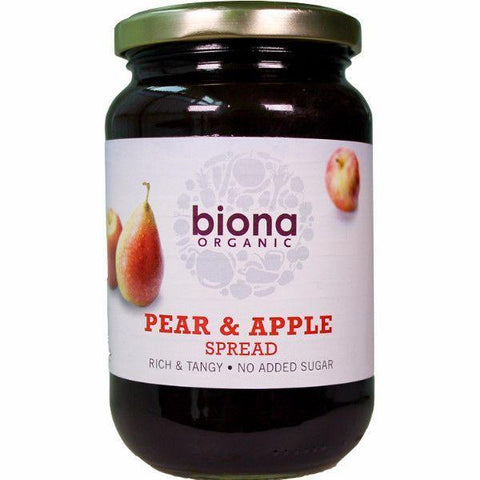 Biona Organic Pear & Apple Spread 450g