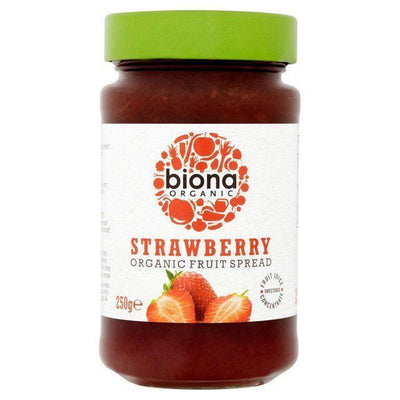 Biona Organic Strawberry Spread 250g