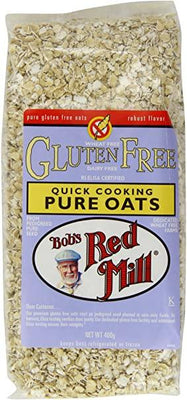 Bobs Red Mill G/F Quick Cooking Oats 400g