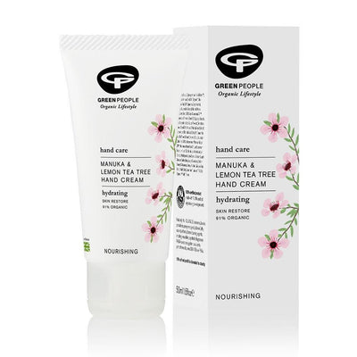 Green People Manuka & Lemon Tea Tree Hand Cream 50ml