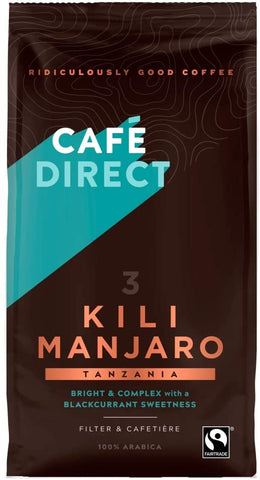 Cafédirect Kilimanjaro FT Ground Coffee 227g