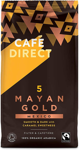 Cafe©Direct Mayan Gold FTO Coffee Beans 227 g