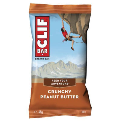 Clif Bar Crunchy Peanut Butter 68g (Pack of 12)