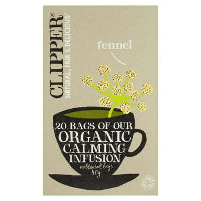 Clipper Organic Fennel 20 Bag