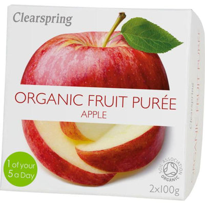 Clearspring Fruit Puree Apple 2x100g