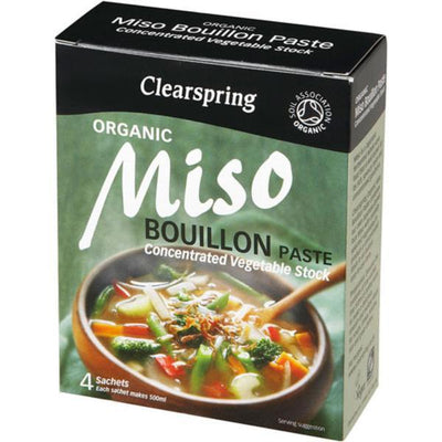 Clearspring Miso Bouillon Paste 4 x 28g