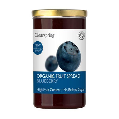Clearspring Organic Fruit Spread Blueberry 280g