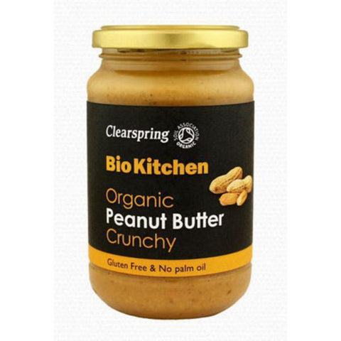 Clearspring Organic Peanut Butter Crunchy 350g