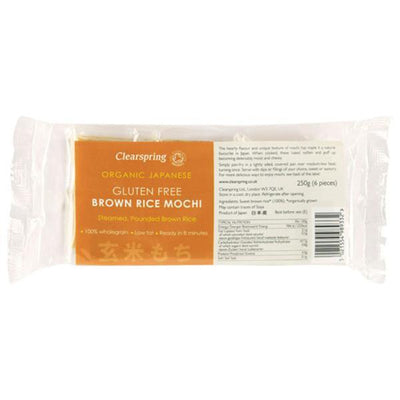 Clearspring Organic Gluten Free Brown Rice Mochi 250g