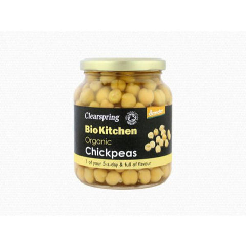 Clearspring Demeter Organic Chickpeas 350g