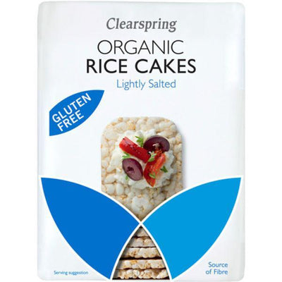 Clearspring Organic Whole grain Thin Rice Cakes 130g
