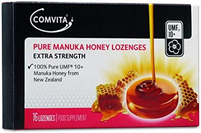 Comvita Pure Manuka UMF 10+ Honey Lozenges Pack of 16