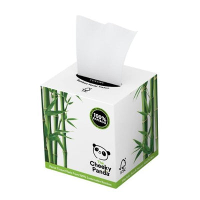 Cheeky Panda 100% Bamboo Facial Tissue Cube 3ply 56 Sheets